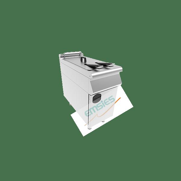 dolaplı tekli fritöz