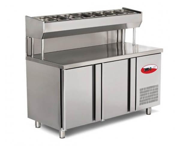 pizza ve salata hazırlık buzdolabı 3