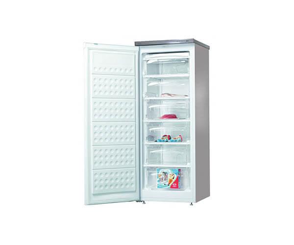 şenocak rd 6200 a+ 6 çekmeceli beyaz dikey derin dondurucu